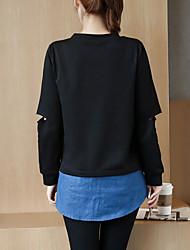 знак пятно 2017 весной новые буквы напечатаны подшивание джинсовую куртку