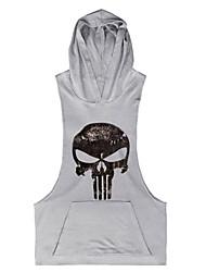 The Latest Men's Fashion Sleeveless Hooded Vest