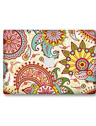 For MacBook Air 11 13/Pro13 15/Pro with Retina13 15/MacBook12 Flower Color Decorative Skin Sticker Glow in The Dark