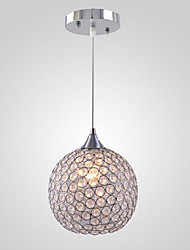 Round Crystal Chandelier  1 Light