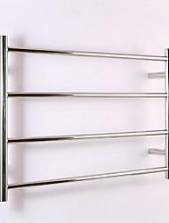 Toalheiros e porta Contemporânea Retângulo Aço Inoxidável