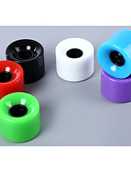 Long Board Wheel High Strength Multicolor Skateboard Wheels Wearproof 4 x Wheel For Skateboard Long Board