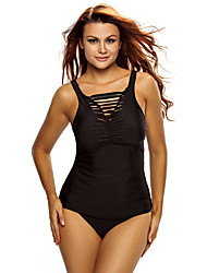 Women's Sporty Look Ruched Tank Top Tankini Set Swimwear