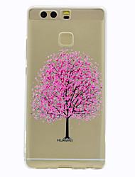 Для Прозрачный С узором Кейс для Задняя крышка Кейс для дерево Мягкий TPU для HuaweiHuawei P9 Huawei P9 Lite Huawei Honor 5C Huawei Mate