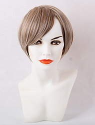 Natural    Straight Short Synthetic Wig Suitable For All Kinds Of People