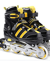 Kid's Inline Skates Adjustable Yellow