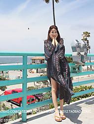 Bohemian dress beach skirt dress skirt summer seaside resort beach skirt skirt Thailand Tourism