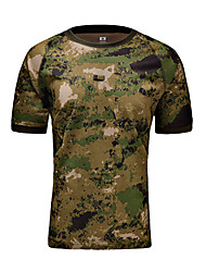 Unisex T-shirt Hunting Breathable Comfortable Summer Camouflage-MTIGER SPORTS®