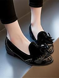 Women's Loafers & Slip-Ons Spring Comfort PU Casual Low Heel