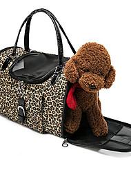 Sac à dos en léopard sac pour chien fournitures sac portatif pour chat et sac pour chien du sac à dos
