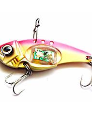 "1 pcs Hard Bait Metal Bait Fishing Lures Hard Bait Metal Bait Trolling Lure Assorted Colors g/Ounce,80 mm/3-1/4"" inch,MetalBait Casting"