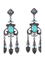 Fashion Bohemia Vintage Gemstone Earrings