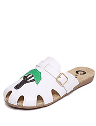 Women's Sandals Spring Summer Comfort PU Dress Casual Chunky Heel