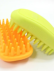 Pet bathing beauty massage brush Cats and dogs a bath brush bath high quality rubber