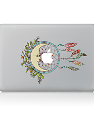 For MacBook Air 11 13/Pro13 15/Pro With Retina13 15/MacBook12 Colourful Feathers Decorative Skin Sticker