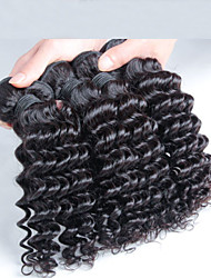 4 pcs/ lot Malaysian Deep Wave Hair, Free Shipping Virgin Malaysian Hair Wholesale Deep Wave