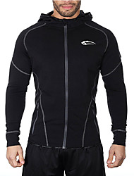 Men's Exercise & Fitness Breathable Spring Winter Gray BlackM L XL XXL