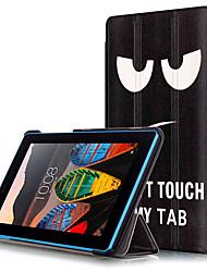 Cubierta de la caja de la impresión para la lengüeta del tab3 del lenovo 3 7 730 tableta de 730m tb3-730m con la película protectora