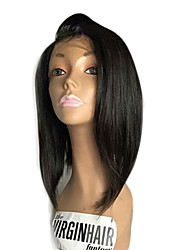 New Fashion Brazilian Virgin Hair Bob Wigs Lace Front Human Hair Wigs Straight Short Remy Hair Bob Wig for Black Woman