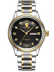 Tevise Men's Unisex Dress Watch Fashion Watch Mechanical Watch Wrist watch QuartzCalendar Water Resistant / Water Proof Luminous