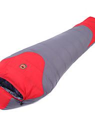 Sleeping Bag Mummy Bag Single -15 -5 T/C Cotton 210X80 Camping Moistureproof/Moisture Permeability Keep Warm 自由之舟骆驼