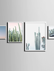 E-HOME® Framed Canvas Art   Simple Natural Scenery And Plant Series (6) Theme Series Framed Canvas Print One Pcs