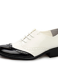 Men's Oxfords Formal Shoes Bullock shoes Patent Leather Wedding Office & Career Party & Evening  Walking Shoes