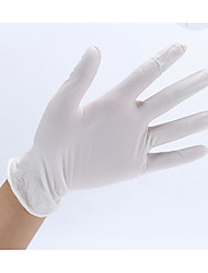 Emas Disposable Medical Rubber Examination Gloves (Economical)Large /1 Case