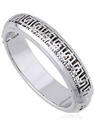 Жен. Браслет цельное кольцо Хип-хоп Мода Сплав Круглой формы Бижутерия Для Свадьба Для вечеринок 1шт