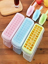 1 Set Mold for Ice Plastic Ice Cubes with Shovel