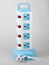 Power Strip With Multi-Function Feet Code 2 USB Power Charger 220V 10A