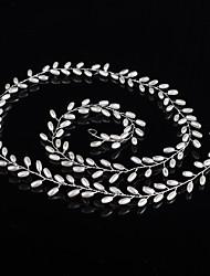 Искусственный жемчуг Заставка-Свадьба Особые случаи на открытом воздухе Ободки Цепочка на голову Аксессуар для волос 1 шт.