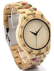 BOBO BIRD Men's Fashion Watch Wristwatch Unique Creative Cool Casual Wooden Band Vintage Luxury Watches Japanese Quartz Wood Watch