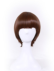Europe and the United States Selling Mushrooms Head Buckle Wig wave Head Hair Network 10inch
