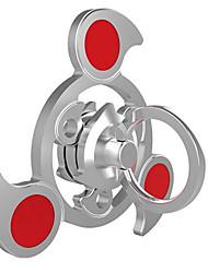 Спиннеры от стресса Ручной обтекатель Игрушки Tri-Spinner Кольцо Spinner Прядильщик Игрушки Металл Алюминий EDCСтресс и тревога помощи