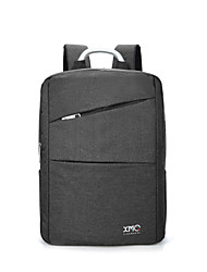 Km2016 Sac à bandoulière portable ultra-léger de 15,6 pouces Sac à bandoulière en coréen imperméable couleur pure unisexe