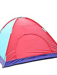 5-8 Pessoas Tenda Único Tenda Automática Um Quarto Barraca de acampamento 1000-1500 mm Fibra de VidroProva de Água Á Prova-de-Vento