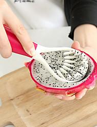 1 Pças. Melancia Hami melão Fruta do dragão Colher For Fruta Vegetais Plástico Multifunções Gadget de Cozinha Criativa