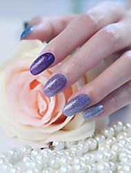 1 pc nail art nails tous posté 14 autocollants scintillement le gradient une série de