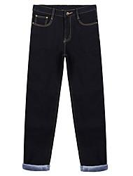 Men's Low Rise Micro-elastic Chinos Pants,Boho Slim Solid