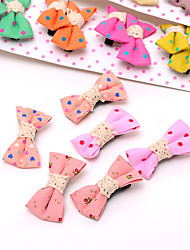 South Korean Baby's Bow and BB Clip With a Child's Clip of the Girl's Top 10 Pairs