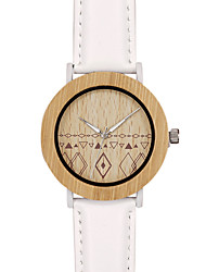 BOBO BIRD Men's Fashion Watch Wristwatch Unique Creative Cool Casual PU Band Vintage Luxury Watches Wood Watch
