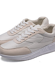 Herren-Sneakers Frühjahr fallen Komfort Tüll lässig grau schwarz weiß