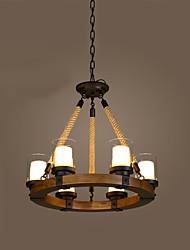 Montaggio del flusso ,  Contemporaneo Tradizionale/Classico Pittura caratteristica for Stile Mini Legno/bambùSalotto Camera da letto Sala