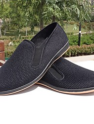 Mocassins masculins&Slip-ons printemps confort tulle casual noir