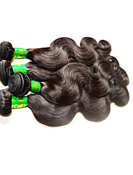 Guangzhou Beautysister Hair 8A Indian Body Wave Virgin Hair 4Bundles 400g Lot Sale 100% Unprocessed Indian Human Hair Material Made Natural Black