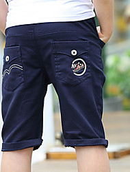 Boys' Going out Casual/Daily School Embroidered Pants-Cotton Summer