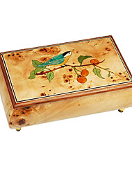 Music Box Square Wood Not Specified