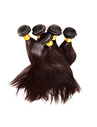 Wholesale Peruvian Straight Hair 5Bundles 500g Lot Best Hair Supplier Products Real 8A Unprocessed Virgin Hair Natural Black Color