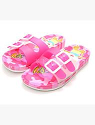 Para Meninas-Chinelos e flip-flops-Chanel-Rasteiro--Borracha-Casual
